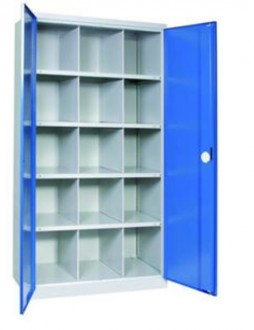 Armoire d'atelier haute 40 cases - Devis sur Techni-Contact.com - 1