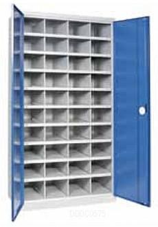Armoire d'atelier haute 40 cases - Devis sur Techni-Contact.com - 2