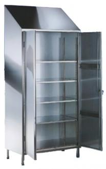 Armoire d'entretien inox 2 portes - Devis sur Techni-Contact.com - 1