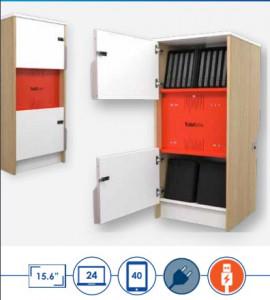 Armoire de rechargement pour tablettes - Devis sur Techni-Contact.com - 2