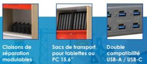 Armoire de rechargement pour tablettes - Devis sur Techni-Contact.com - 4