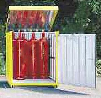 Armoire de sécurité bouteilles de gaz - Devis sur Techni-Contact.com - 1