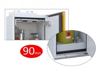 Armoire de sécurité coupe-feu 90 mn : 193 x 119 x 59 cm - Devis sur Techni-Contact.com - 3