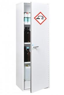 Armoire de sécurité étroite et haute adaptée produits chimiques - Devis sur Techni-Contact.com - 1
