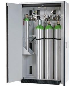 Armoire de sécurité pour bouteilles de gaz inflammable L 140 cm - Devis sur Techni-Contact.com - 2