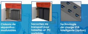 Armoire de stockage et de rechargement pour tablettes - Devis sur Techni-Contact.com - 4