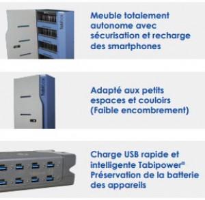 Armoire de stockage et rechargement pour 40 appareils - Devis sur Techni-Contact.com - 3