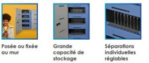 Armoire de stockage et rechargement pour 40 appareils - Devis sur Techni-Contact.com - 4
