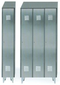 Armoire en acier avec vestiaires pour industrie - Devis sur Techni-Contact.com - 1