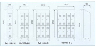 Armoire industrielle casier - Devis sur Techni-Contact.com - 2