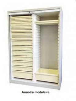 Armoire modulaire à rideau - Devis sur Techni-Contact.com - 5