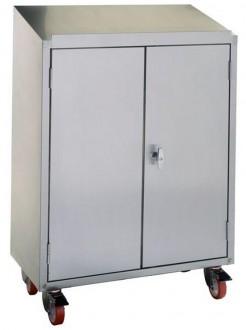 Armoire pupitre d'atelier 2 portes - Devis sur Techni-Contact.com - 1