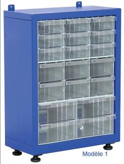Armoire tiroirs plastique petit format - Devis sur Techni-Contact.com - 1