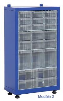 Armoire tiroirs plastique petit format - Devis sur Techni-Contact.com - 2