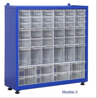 Armoire tiroirs plastique petit format - Devis sur Techni-Contact.com - 3
