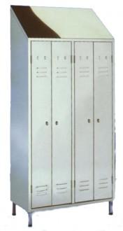 Armoire vestiaire 2 places - Devis sur Techni-Contact.com - 1