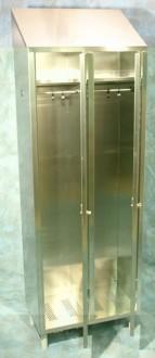 Armoire vestiaire inox 2 portes - Devis sur Techni-Contact.com - 3