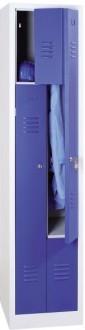 Armoire vestiaire métallique porte en Z - Devis sur Techni-Contact.com - 1