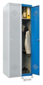 Armoire vestiaire monobloc à casiers - Devis sur Techni-Contact.com - 1