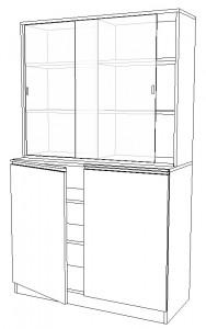 Armoire vitrine pour laboratoire - Devis sur Techni-Contact.com - 1