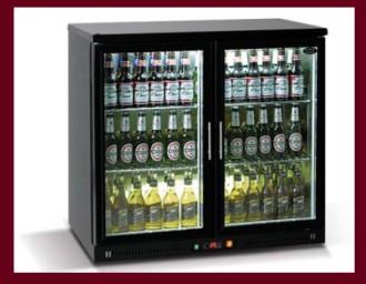 Arrière bar 2 portes vitrées - Devis sur Techni-Contact.com - 1