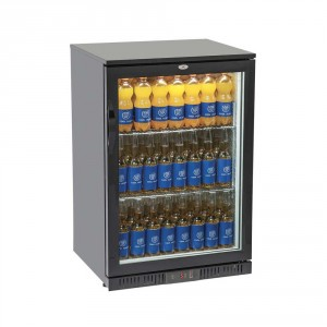 Arrière bar vitré réfrigéré 1 porte 135 L - Devis sur Techni-Contact.com - 1