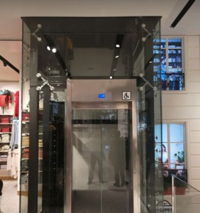 Ascenseur pour immeubles de bureaux conforme norme PMR - Devis sur Techni-Contact.com - 1