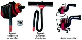 Aspiration gaz d'échappement - Devis sur Techni-Contact.com - 1