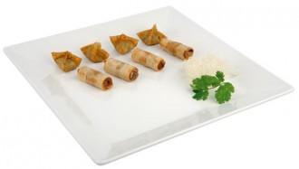 Assiette carrée Mélamine blanche - Devis sur Techni-Contact.com - 1