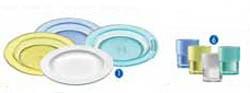 Assiette et verre polycarbonate - Devis sur Techni-Contact.com - 1