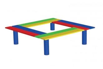 Assise pour aire de jeux enfant - Devis sur Techni-Contact.com - 1