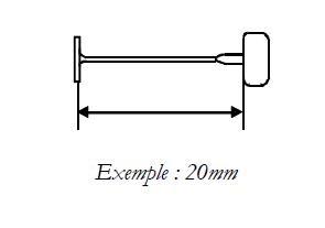 Attache étiquette fine en polypropylène - Devis sur Techni-Contact.com - 1