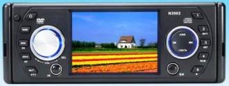 Auto-radio DIVX DVD MP3 CD FM USB SD MMC NEUF 240W écran 3'5 - Devis sur Techni-Contact.com - 1