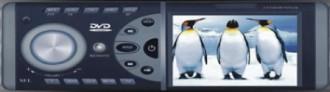 Auto-radio DIVX DVD MP3 USB SD MMC CD FM NEUF 240W écran 3'5 avec fonction RDS - Devis sur Techni-Contact.com - 1