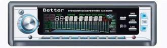 Autoradio better DIVX DVD MP3 CD FM NEUF - Devis sur Techni-Contact.com - 1