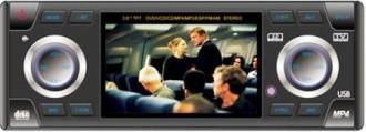 Autoradio DIVX DVD MP3 CD FM USB SD MMC NEUF 240W écran 3.6pouces - Devis sur Techni-Contact.com - 1