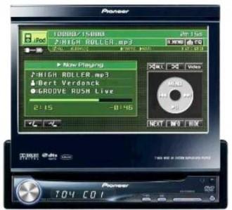 Autoradio Pioneer CD/DVD/MP3/WMA - Ecran IN-DASH - Devis sur Techni-Contact.com - 1