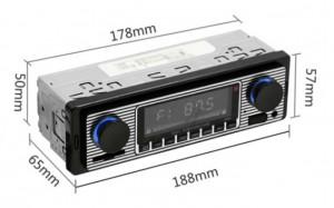 Autoradio vintage - Devis sur Techni-Contact.com - 1