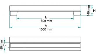 Avaloir en fonte profil A C 250 PMR - Devis sur Techni-Contact.com - 2