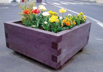 Bac à fleur rectangulaire plastique - Devis sur Techni-Contact.com - 1