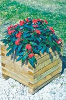 Bac à fleurs en bois - Devis sur Techni-Contact.com - 1