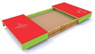 Bac à sable avec couvercle - Devis sur Techni-Contact.com - 1