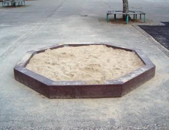 Bac à sable de jeux octogonal - Devis sur Techni-Contact.com - 2