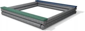 Bac à sable de jeux sans fond - Devis sur Techni-Contact.com - 1
