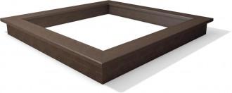 Bac à sable plastique recyclé carré - Devis sur Techni-Contact.com - 1