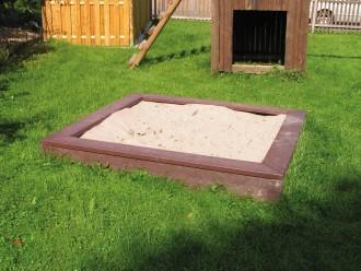 Bac à sable plastique recyclé carré - Devis sur Techni-Contact.com - 2