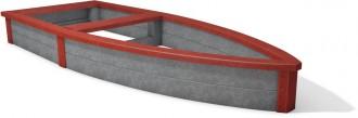 Bac à sable plastique recyclé pirate - Devis sur Techni-Contact.com - 3