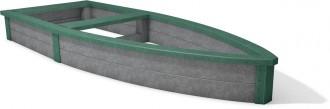 Bac à sable plastique recyclé pirate - Devis sur Techni-Contact.com - 4