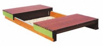 Bac à sable pour aire de jeux 420 x 210 - Devis sur Techni-Contact.com - 2