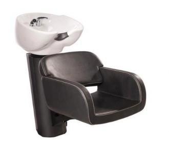 Bac à shampoing à cuvette céramique basculante - Devis sur Techni-Contact.com - 1